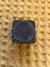 More details for vintage wolf head monogrammed copper printing block