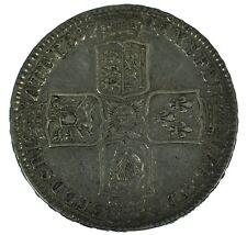 1745 George II Lima Halfcrown Great Britain Silver Coin