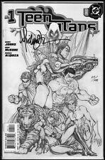 Teen Titans #1 US DC Comic signed signiert MICHAEL TURNER + DF COA Aspen Fathom