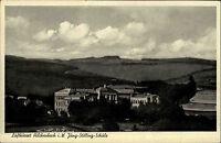 Hilchenbach in Westfalen Ansichtskarte 1953 Blick auf die Jung Stilling Schule