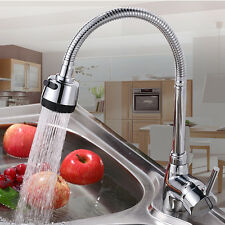 Floor Mount Bendable Two Hole Basin Kitchen Wash Basin Faucet Mixer Water Taps