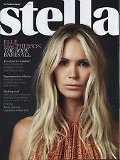 Elle Macpherson on Magazine Cover July 2012