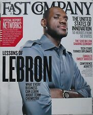 LEBRON JAMES May 2011 FAST COMPANY Magazine