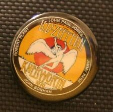 Led Zeppelin Knebworth 1979 badge