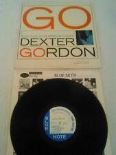 DEXTER GORDON - GO LP / RARE ORIGINAL 1ST MONO BLUE NOTE 4112 SONNY CLARK RVG