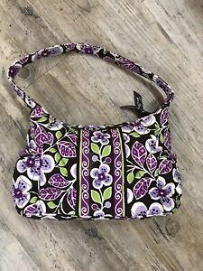 Vera Bradley Plum Petals Small Vibrant Handbag