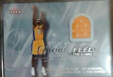 Fleer Basketball 2000 Feel The Game Shaquille Oneal Game Worn Jersey