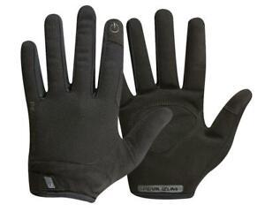 NEW! Pearl Izumi Attack Full Finger Cycling Gloves Unisex 14341902 Black Medium