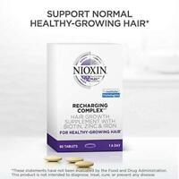 NIOXIN Recharging Complex Hair Growth Supplements (60 tablets) EXP. 03/2020