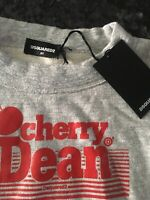 🔥 Dsquared2 🔥 sweatshirt Cherry Dean 7-8 years BNWT Authentic Girls Designer