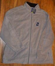 Gray Croft & Barrow Fleece Jacket Full Zip Big & Tall 3XB MSRP $60.00