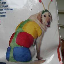 Halloween Pet Costume Caterpillar Dog  dickens Large