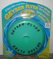 GEYSER FLYER Flying Disc Wet or Dry SUMMER FUN POOL* NEW