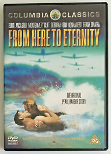 From Here To Eternity (DVD, 2002) American Romantic Drama Film, Region 2