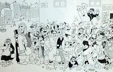 Guerre Ravitaillement Boucherue Boucher Humour Caricature Albert Dubout 1944