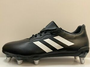 """adidas Rumble Mens SG Rugby Boots UK 12 US 12.5 EUR 47.1/3 Ref 2973"""""""