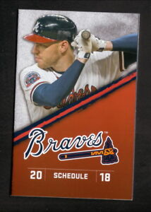 Atlanta Braves--Freddie Freeman--Ender Inciarte--2018 Schedule--Fox Sport South