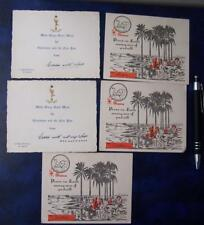 Militaria  5   WW2  Military issue greetings cards