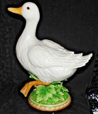 "Rare Fitz And Floyds Classic Le Canard Male Duck Figurine 68/713 2003 14"""