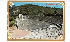 BF12853 epidaurus the ancient theatre  greece front/back image