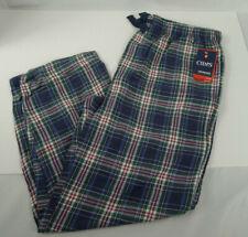 Men's Chaps Plaid Sleep Lounge Pants Pajama Large Wicking Performance w/ Pockets