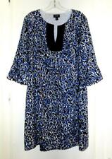 NICOLE MILLER KNIT DRESS with BELL SLEEVES Size 14