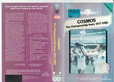COSMOS THE CHAMPIONSHIP YEARS 1977-1980 PELE BECKENBAUR SOCCER RARE PALVHS VIDEO