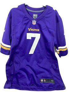 Mens Size M Minnesota Vikings Christian Ponder Football Jersey On Field Nike 100