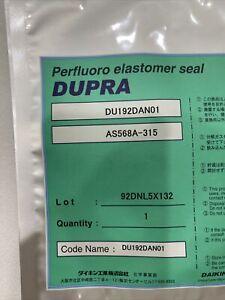 New sealed,DUPRA Perfluoro Elastomer Seal, DU192DAN01, AS568A-315