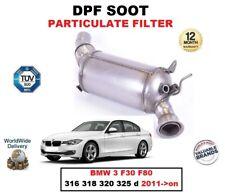 DPF Diesel fuliggine Filtro del Particolato per BMW 3 F30 F80 316 318 320 325 D 2011 - > su
