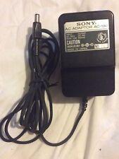 Vintage Sony Ac-190 Power Supply Plug Adapter 9V Dc 800mA *Tested/Works*