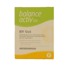 BALANCE ACTIV Active Vaginal BV GEL 7 x Hygienic Single-use Applicators Free P&P