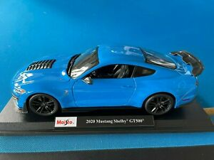 Maisto 2020 Mustang Shelby GT500 Die Cast Car Model 1:18 Scale GT 500