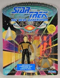 1992 Star Trek Next Generation Lt. Commander Data Figure Canadian FR-ENG L015309
