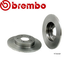Front Disc Brake Rotors and Brake Pads for I35 02-04 /& ALTIMA 02-06
