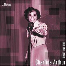 COUNTRY LP Charline Arthur - Burn That Candle (180gram vinyl) NEW - BEAR FAMILY
