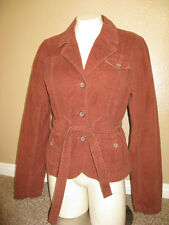 """New with tags, Urban Outfitters Jacket """"LUX"""" Brown w/ belt Junior size Large"""