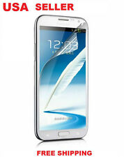 N201 Samsung Galaxy Note 2 N7100 Front Screen Protector Anti-Scratch Cover