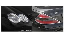 Mercedes SL 2002-2008 Headlight & Taillight Chrome Trim Surround