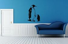 Wall Stickers Vinyl Decal Penguin Floating Bird Antarctica ig114