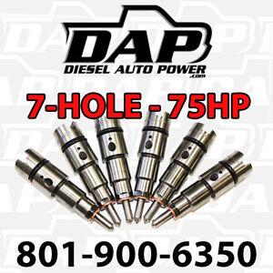 + 75HP Performance Injectors for Dodge RAM Cummins 24v 75 HP 1998-2002 Diesel