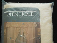 """Sears Open Home Sheer Panel Curtain Ivory 60"""" Wide 90"""" Long"""