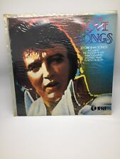 K-tel  ELVIS LOVE SONGS 20 ORIGINAL SONGS - LP 12inch 33RPM ELVIS PRESLEY