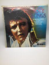 K-tel  ELVIS LOVE SONGS 20 ORIGINAL SONGS - LP 12inch 33RPM ELVIS PRESLEY