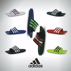 Mens Adidas Lightweight Pool Shoes Sandals Sliders Sizes UK from 6 to 14
