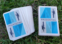 Vintage Playing Cards - The Prudential In Box