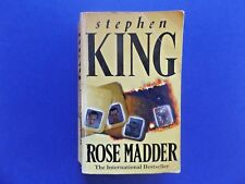   @Oz    ROSE MADDER By Stephen King (1996), Small SC, New English Library