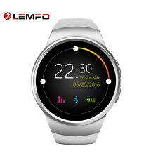 Lemfo KW18 Bluetooth Wireless SIM Wrist phone Reloj Inteligente Para IOS Android