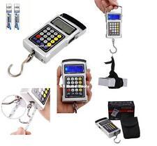 Digital Hook Scale 7in1 Hanging Weigh Hook Tape Fish Luggage Workshop to 50kg
