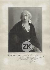 BECKER & MASS Berlin Photographe Cinema Kino Autographe Photo 1920s